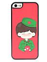 Pour Coque iPhone 5 Depoli Coque Coque Arriere Coque Dessin Anime Dur Polycarbonate iPhone SE/5s/5