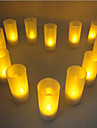 Blow Sensitive Candle Design LED Night Light Home Party Wedding Decoration