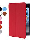 נרתיק עור pu w / לעמוד ולהתמודד לipad מיני 3, ipad mini 2, mini ipad (צבעים שונים)