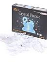 Swan 3D Crystal Puzzle (45pcs, Model:9004A, Random Color)