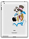 Cartoon Design Autocollant de protection pour iPad 1, iPad 2, iPad 3 et le nouvel iPad