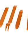 4-шт Pro Car Демонтаж Install Tool Kit Pack для видео и аудио наборов системной