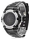 Мужской Спортивные часы электронные часы LCD Compass Цифровой Pезина Группа Черный
