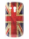 삼성 갤럭시 S3 미니 I8190를위한 영국 깃발 본 단단한 케이스