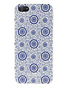 Pour Coque iPhone 5 Motif Coque Coque Arriere Coque Fleur Dur Polycarbonate pouriPhone 7 Plus iPhone 7 iPhone 6s Plus/6 Plus iPhone 6s/6