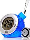 Eco Green Water Powered Digital Clock Calendar (Random Color)