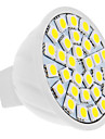 5W GU5.3(MR16) Lampadas de Foco de LED MR16 30 SMD 5050 420 lm Branco Natural DC 12 V