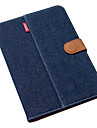 ultra tynn kongeblaa ren bomull denim w / staa for ipad mini 3, ipad mini 2, ipad mini