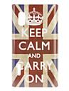 LG 옵티머스 L5 E612를위한 크라운 영국 깃발 본 단단한 케이스