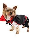 Собаки Костюмы Красный Одежда для собак Зима Весна/осень Вампиры Милые Косплей