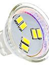 2W GU4(MR11) Точечное LED освещение MR11 6 SMD 5630 180 lm Естественный белый AC 12 V