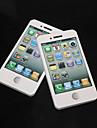 흰색 아이폰 4S 패턴 자체 스틱 노트