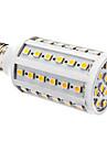 10W E26/E27 LED a pannocchia T 60 SMD 5050 800 lm Bianco caldo Intensita regolabile AC 220-240 V
