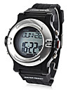 Unisex Heart Rate Monitor Calorie Counter Style Silicone Digital Automatic Wrist Watch (Black) Cool Watch Unique Watch Fashion Watch