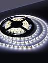 Waterproof 5M 18W 300x3528 SMD White Light LED Strip Lamp (12V, IP44)