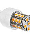 3W G9 LED Corn Lights T 27 SMD 5050 220 lm Warm White AC 220-240 V