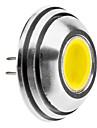 G4 1.5W 125-140LM 6000-6500K Natural White Light Rounded lampadina del punto del LED (12V)