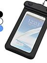 Universal suuret PVC IPX8 vedenpitävä laukku käsivarsihihna Samsung Galaxy puhelin