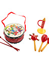 Perinteinen kiinalainen Drum, Rattle, Horn Pack for Children