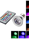 E26/E27 5 W 1 LM RGB/Color-Changing PAR Remote-Controlled Spot Lights AC 85-265 V