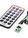 module recepteur IR kit de telecommande sans fil pour (pour Arduino) (1 x CR2025)
