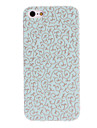 Mint Green Engraving Flower Design Hard Case for iPhone 5/5S
