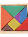 7pcs colorido Junta Tangram IQ Puzzle Toy Kit Educativo para Ninos