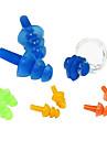 Clipe nariz e tampões de proteção auditiva para natação (cor aleatória)