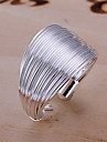 Ring Adjustable Daily Jewelry Alloy Band RingsAdjustable Silver