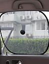 carro-sol janela (2 pecas, preto)