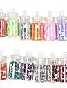 48 colores de cristal embotellada UNAS DECORACION Modelos azar