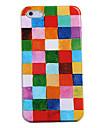 cores cesta de volta caso net para iphone 4 / 4s