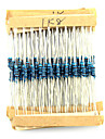 Elecfreaks DIY 0.25W 100 Ohm to 2.4K Ohm Resistor Kit A for (For Arduino) Test