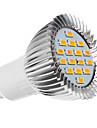 GU10 5W 16x5730SMD 420-450LM 2500-3500K Warm White Light LED Spot Bulb (220-240V)