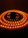 5M 24W 60x3528SMD 900-1200LM Yellow Light LED Strip Light (DC12V)
