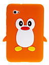 3D Cute Penguin Cartoon myk silikon Back Case Cover for Samsung Galaxy Tablet Tab 2 7.0 P3100