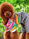 Собаки Комбинезоны Оранжевый Одежда для собак Зима Весна/осень Полоски Милые На каждый день