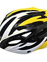 Спорт на открытом воздухе ПК и EPS Материалы Велоспорт Шлемы (27 Vents, желтый)