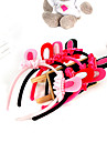 Hair Accessories for Dogs Red / Black / Pink / Rose Spring/Fall Mixed Material / Fleece