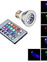 Lampadine spot - E26/E27 3 W- Con telecomando - RGB AC 85-265