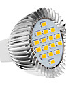 5W GU5.3(MR16) / E26/E27 LED Spotlight 16 SMD 5630 420-450 lm Warm White AC 220-240 V
