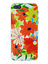 Red Flower Back Case for iPhone 5/5S