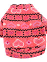 Dog Coat / Shirt / T-Shirt Rose Winter Hearts