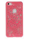 Выдалбливают цветочного дизайна Футляр стиль для iPhone 5C (разных цветов)