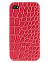 Stilvolle Leopard-Druck-Muster PU-Huelle fuer das iPhone 4/4S (verschiedene Farben)