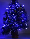 3W 96-LED 210LM Blue Light LED Light Strip voor kerstversiering (24V)