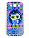 For Samsung Galaxy Case Pattern Case Back Cover Case Owl PC Samsung S3