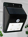 4-х светодиодных Белый свет светодиодный солнечный свет PIR датчик Наружное освещение