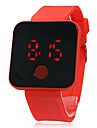 Unisex Touchscreen LED Digital Silicone Band Wrist Watch (Assorted Colors)