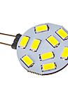 G4 3W 9 SMD 5730 120-150 LM Холодный белый Точечное LED освещение V